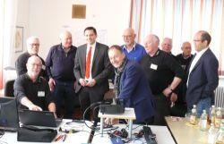 Dr. Johannes Fechner MdB und Hans-Peter Storz MdL bei den PC-Senioren
